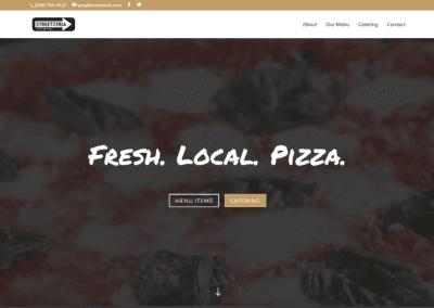 Streetzeria Website Design